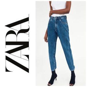 Zara Classic Wash Mom Jeans Size 27/4